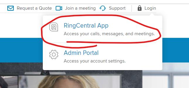 RingCentralLogin